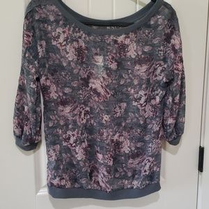 NWT Maurices sheer top